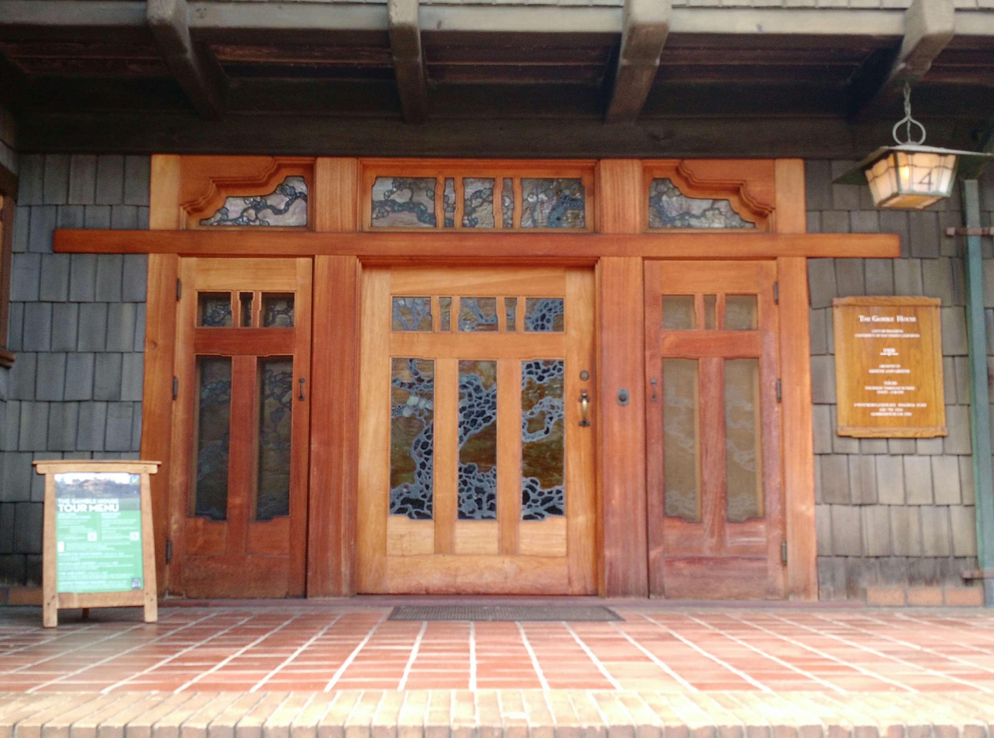Field trip – The Gamble House – Jess McNaughton